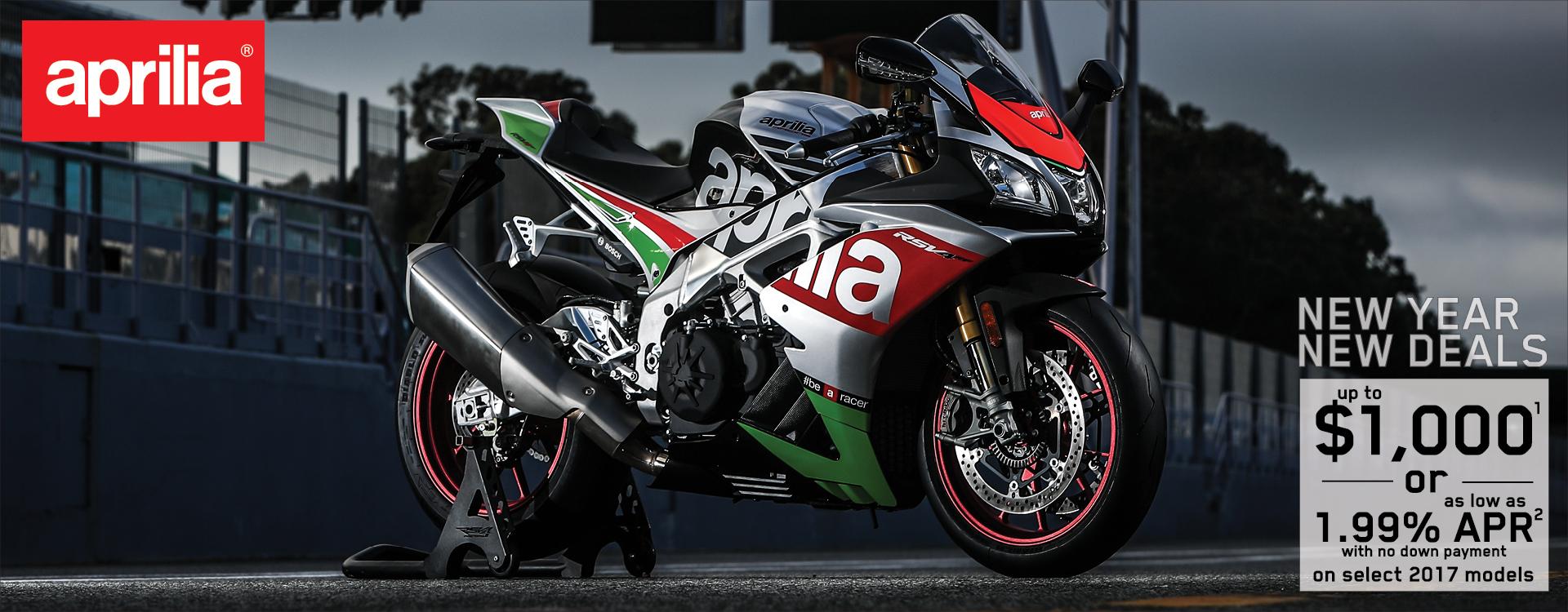 Aprilia at GP Motorcycles